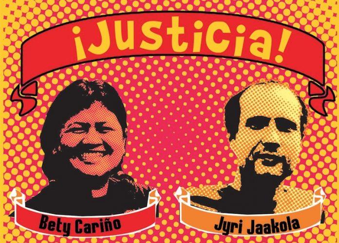 Bety Cariño, Nos arrebataron tu presencia y hasta hoy la impunidad impera