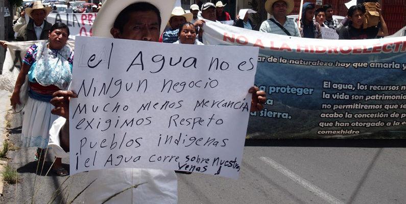 El Pueblo Totonaco reafirma su rechazo a la Hidroeléctrica para Walmart