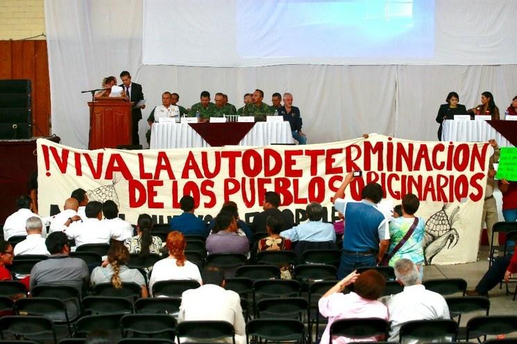 Pueblos originarios que se oponen a Santa Lucía se dicen traicionados