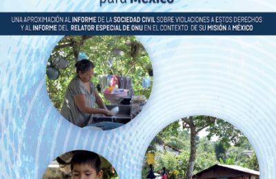 Los derechos humanos al agua potable y al saneamiento: desafíos y recomendaciones para México (PDF para descargar)