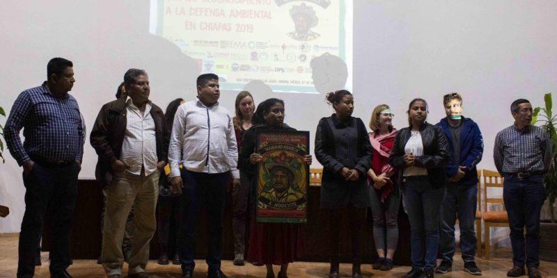 [Video] MODEVITE Recibe el Primer Reconocimiento a la Defensa Ambiental «Mariano Abarca»