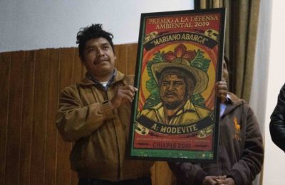 Galería de fotos: Primer Reconocimiento a la Defensa Ambiental en Chiapas «Mariano Abarca»