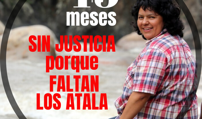 Dan sentencia del primer juicio contra los autores materiales del asesinato de  Berta Cáceres