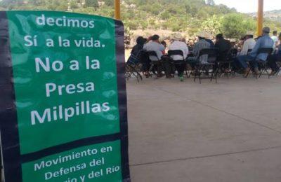 Zacatecas: Atotonilco y El Potrero ratifican nuevamente: Dicen no a la Presa Milpillas