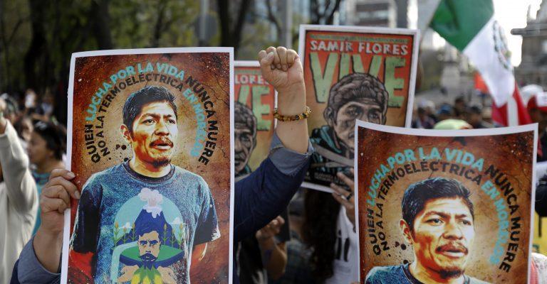 Samir Flores; Una llama en las luchas por la vida en México