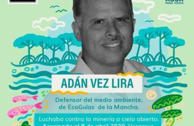 A un año continúa impune el asesinato de Adán Vez Lira