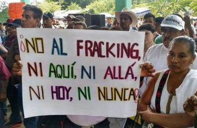 El fracking sigue avanzando en México