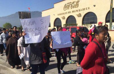 Se solicita a CONAGUA revocar la concesión de aprovechamiento de agua  a Coca-Cola FEMSA en Chiapas