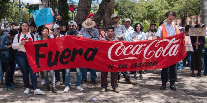 Pronunciamiento frente a la solicitud de cancelación de la Concesión A FEMSA Coca Cola en San Cristóbal De Las Casas