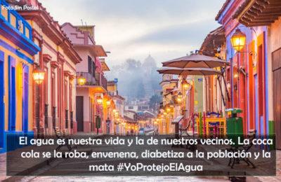 Más de 20 mil firmas piden a CONAGUA que salga la Coca Cola de San Cristóbal