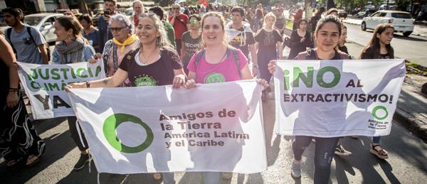 Informe anual de actividades de Amigos de la Tierra Internacional