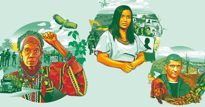 Informe: Defender el Mañana, La crisis climática y amenazas contra defensores de la tierra y el medio ambiente