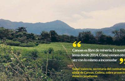 Ejidatarios exigen a AMLO frenar proyecto de mina canadiense en Colima. Infectará el agua, acusan