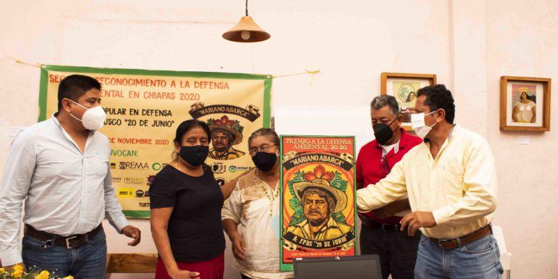 Video: Premio a la Defensa Ambiental en Chiapas Mariano Abarca 2020