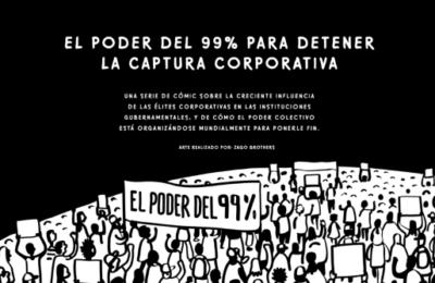La Red-DESC lanza una serie de cómic sobre captura corporativa