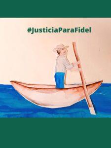 Defensoras y Defensores del Río Verde demandan justicia para Fidel Heras Cruz
