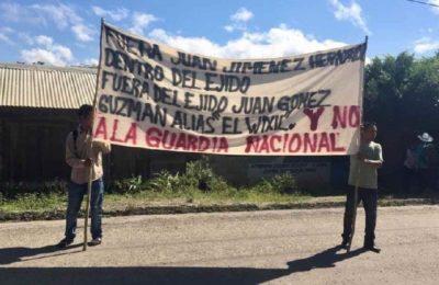 En Chiapas, imposición de cuartel militar provoca rechazo de comunidades indígenas