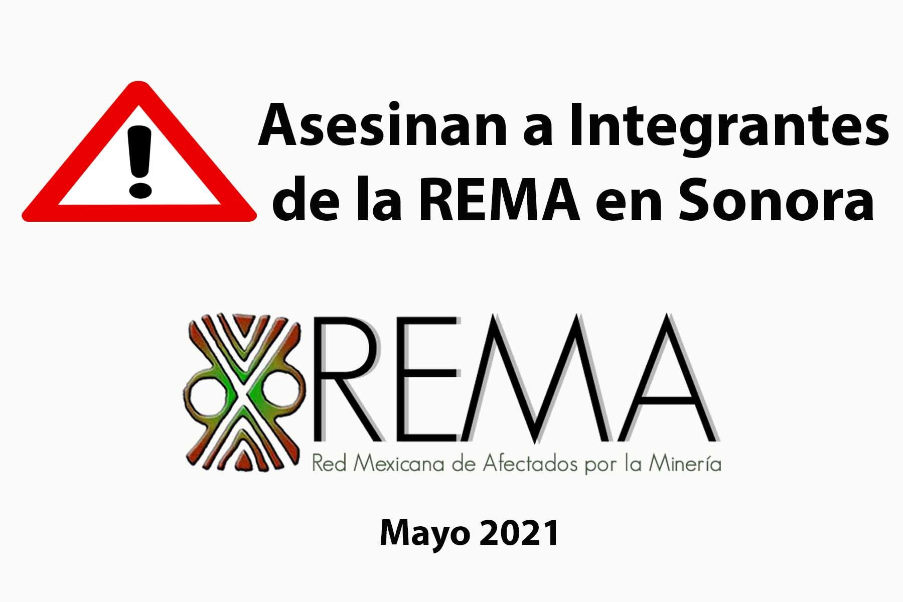 Asesinan a Integrantes de la REMA en Sonora