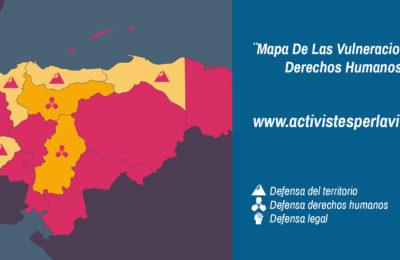 Mapa [Activistas por la vida