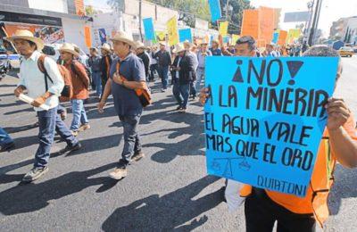Oaxaca: REMA se suma a las exigencias de la Comunidad de San Pedro Apóstol, Ocotlán, Solicitando a la SEMARNAT no ceder ante la presión del Lobby que impulsa la ecocida minera canadiense Fortuna Silver Mines