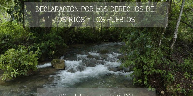 Declaración por los Derechos de los Ríos y los Pueblos