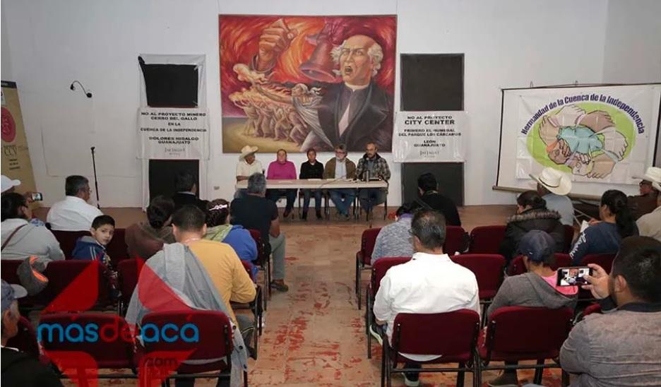 """ARGONAUT GOLD Y LA PERSISTENCIA DEL ENGAÑO """"El Despojo en Contubernio con el Gobierno de Guanajuato"""""""